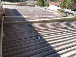 Em Ponta Porã telhas 8mm 3.66