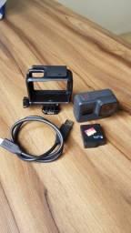 GoPro Hero 7 Black + MicroSD Extreme 32GB + 14 Acessórios