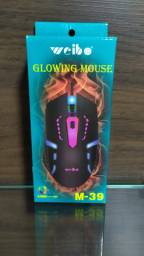 Mouse Óptico USB Gamer Weibo M-39