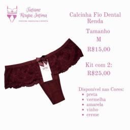 Calcinha Fio dental D'house
