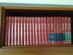 Enciclopédia Barsa 2004 com 22 volumes
