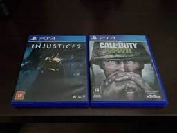 Injustice 2 + Call of Duty WW2