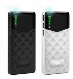 Power Bank Portátil 10000mah Com Visor De Led Inova Pow 1068