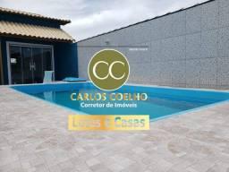 Fr Casa maravilhosa com piscina e área gourmet!