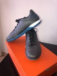 Chuteira Society Nike Tiempo Legend 8 Academy Tf- n.40
