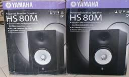 Par de Monitores Yamaha HS80M-Troco