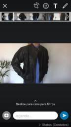 Jaqueta em couro masculinas