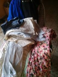 Lote roupas variadas