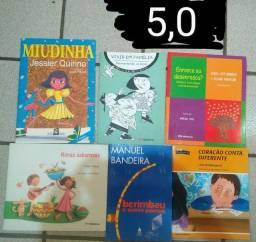 Livros infantis a partir de 3 reais