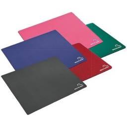 Mouse pad Multilaser ac066 - preto, azul, verde, rosa e vermelho