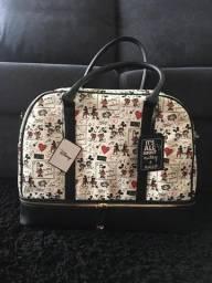 Bolsa de viagem Mickey e Minnie