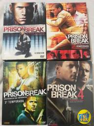DVD Box Série Prision Break - 4 temporadas