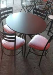 Mesa Redonda Para Area Gourmet-Apartamento-Varanda-Jardim-Piscina-Sacada-Casa-Quintal