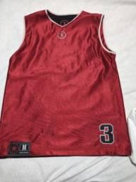 Camisa basquete Wade(veste dos 2 lados)