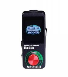 Pedal de Guitarra Mooer Radar Simulador de Cab/Impulse Response