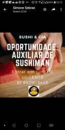 Auxiliar de sushiman