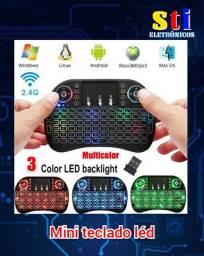 Mini teclado léd