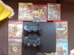 PlayStation 3 único dono funciona tudo travado