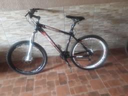 Bike 26 zerada, freio hidráulico
