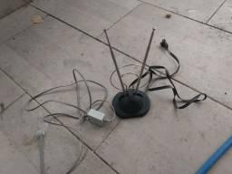 Antena comum mais filtro de linha