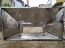 Coifa industrial Inox