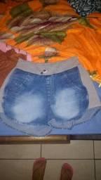 Shorts jeans número 42