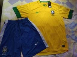 Kit Camisa + Short Nike Produto Novo tamanho G