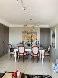 Mesa jantar luxo laqueada e maciça