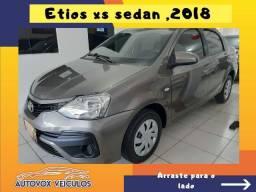 Etios sedan xs 2018