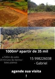 @terreno a 6km de Ibiúna ! 1000m