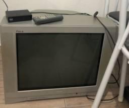Tv turbo de 20 polegadas + conversor digital