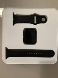 VENDO c/ nota - smartwatch IWO9 PRETO 4 meses de uso