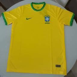 Camisa Brasil nova 2020- 21