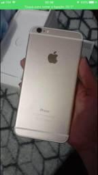 Troco iphone 6 plus prata 32 gb