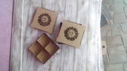 Super Promoção Kit 3 caixa MDF com Brasão e inicial