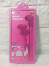 Fone de ouvido com microfone AL- 603 Altomex