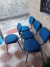Cadeiras para escritório e recepção