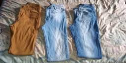 Calça jeans marca polo wear e smk