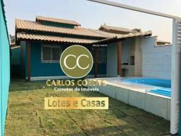 G10 cód 284 Linda Casa com Piscina e Área Gourmet em Unamar Cabo Frio Rj