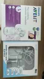 Bombas de tirar leite materno ( manual e elétrica )