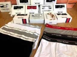 Kit de cuecas boxer Algodao com elastano