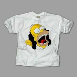Camisetas estampadas escolha seu personagem