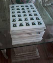 18.000 selos postais
