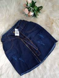 Promoção 49,99/ saia jeans c/lycra do 38 ao 42