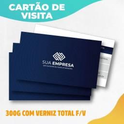 Cartão De Visita Frente E Verso Premium