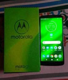 Celular Moto G6 64GB todos acessórios semi-novo