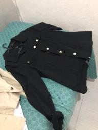 Jaqueta jeans nova, nunca usada!