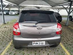 Toyota Etios 1.5 xls 16v flex 4p auto única dona