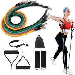 Kit de Elastico para exercício