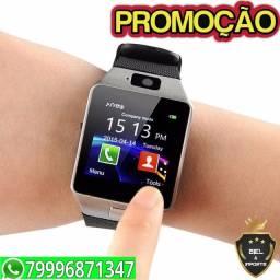 Relógio smartwatch Dz09 atende\faz ligaçao Mega Promocao